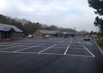 New Carpark at Essex Air Am